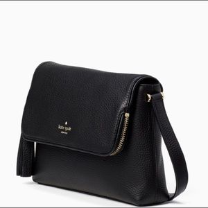 Authentic Kate Spade pebbled leather Flap Crosby❤️